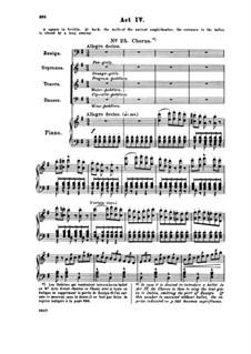 Vollständiger Oper: Akt IV, Klavierauszug mit Singstimmen by Georges Bizet