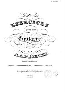 Suite des exercices, Op.48: Livre I by Heinrich Aloys Praeger