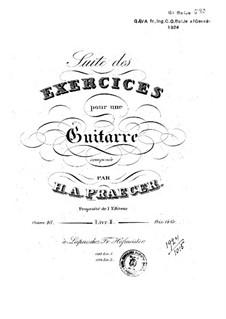 Suite des exercices, Op.48: Livre II by Heinrich Aloys Praeger