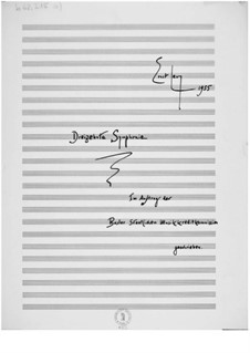 Sinfonie Nr.13: Vollpartitur by Ernst Levy