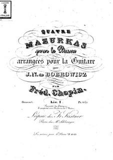 Mazurkas, Op.6: Vollsammlung by Frédéric Chopin