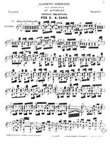 Allegretto Scherzando: Allegretto Scherzando by Ludwig van Beethoven