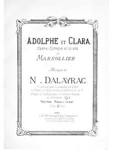 Adolphe et Clara: Adolphe et Clara by Nicolas-Marie d'Alayrac