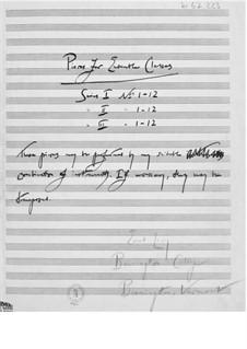 Zwölf leichte Stücke für zwei, drei und vier Instrumente: Buch I by Ernst Levy