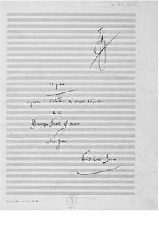 Zwölf leichte Stücke für zwei, drei und vier Instrumente: Buch III by Ernst Levy