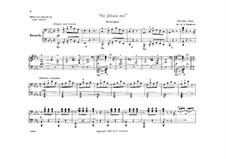 Si j'étais roi (Wenn ich König wäre): Ouvertüre, für Klavier, vierhändig by Adolphe Adam
