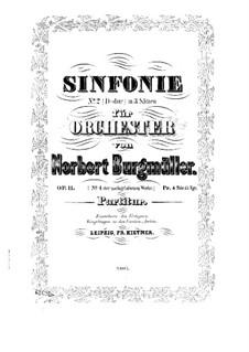Sinfonie Nr.2 in D-Dur, Op.11: Vollpartitur by Norbert Burgmüller