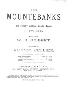 The Mountebanks: Akt I by Alfred Cellier