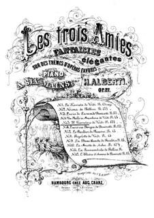 Fantasie über Themen aus 'Der Troubadour' von Verdi, Op.27 No.5: Fantasie über Themen aus 'Der Troubadour' von Verdi by H. Alberti