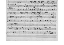 Nr.1 in F-Dur, W B43: Nr.1 in F-Dur by Johann Christian Bach