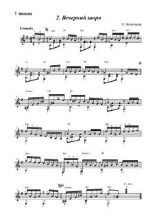 Вечерний шоро, Op.9: Вечерний шоро by Oleg Kopenkov