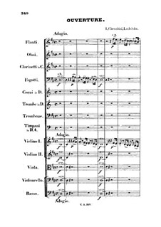 Lodoïska: Ouvertüre by Luigi Cherubini
