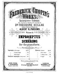 Scherzo Nr.1 h-Moll, Op.20: Für Klavier by Frédéric Chopin