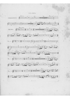 Variationen über Thema 'Là ci darem la mano' aus 'Don Giovanni' von Mozart, Op.2: Oboenstimme I by Frédéric Chopin