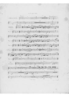 Variationen über Thema 'Là ci darem la mano' aus 'Don Giovanni' von Mozart, Op.2: Oboenstimme II by Frédéric Chopin