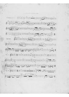 Variationen über Thema 'Là ci darem la mano' aus 'Don Giovanni' von Mozart, Op.2: Klarinettenstimme I by Frédéric Chopin