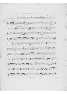 Variationen über Thema 'Là ci darem la mano' aus 'Don Giovanni' von Mozart, Op.2: Klarinettenstimme II by Frédéric Chopin