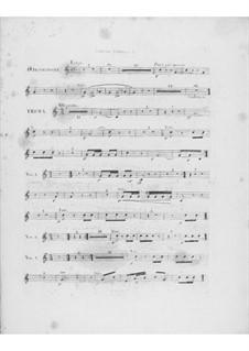 Variationen über Thema 'Là ci darem la mano' aus 'Don Giovanni' von Mozart, Op.2: Waldhornstimme I by Frédéric Chopin