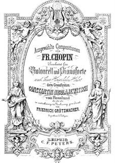 Polonäse in As-Dur 'Heroic', Op.53: Für Cello und Klavier by Frédéric Chopin