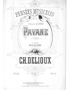 Pensées musicales, Op.8: No.9 Pavane by Charles Delioux