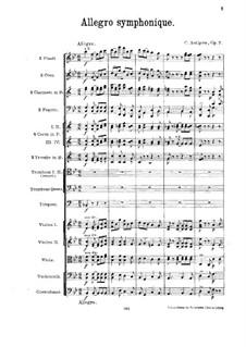 Sinfonische Allegro, Op.7: Sinfonische Allegro by Konstantin Antipow
