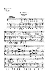 Lieder und Gesänge, Op.96: Klavierauszug mit Singstimmen by Robert Schumann