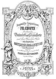 Nr.2 in Es-Dur: Für Cello und Klavier by Frédéric Chopin