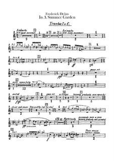 In einem Sommergarten: Trompetenstimmen by Frederick Delius