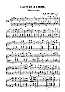 Kometwalzer, Op.87: Kometwalzer by Josef Lanner