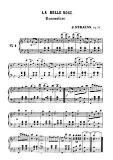 Rosawalzer, Op.76: Rosawalzer by Johann Strauss (Sohn)