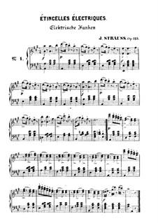 Phönix-Schwingen, Op.125: Für Klavier by Johann Strauss (Sohn)