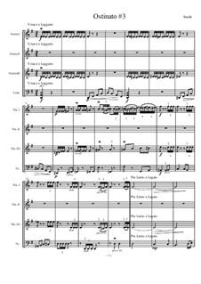 Four Ostinati for Strings: No.3 Scherzando by Matthew Smith