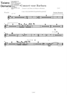 Concert voor Barbara: Kleine Flöte by Tormy Van Cool