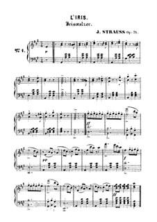 Iriswalzer, Op.75: Iriswalzer by Johann Strauss (Sohn)
