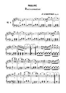 Paulinenwalzer, Op.33: Paulinenwalzer by Joseph Labitzky