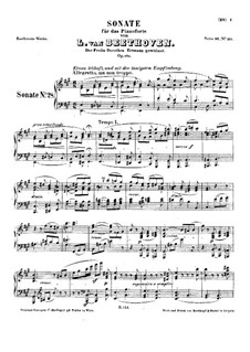 Sonate für Klavier Nr.28, Op.101: Für einen Interpreten by Ludwig van Beethoven