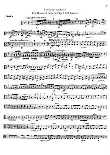 Ouvertüre: Violastimme by Ludwig van Beethoven