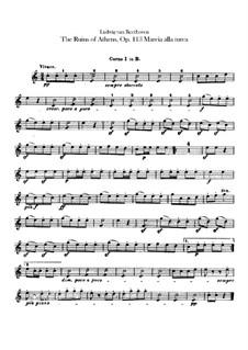 Türkischer Marsch: Hörnerstimmen I, II by Ludwig van Beethoven