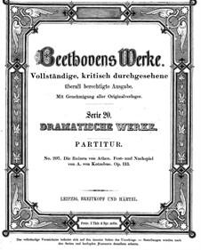Die Ruinen von Athen, Op.113, 114: Die Ruinen von Athen by Ludwig van Beethoven