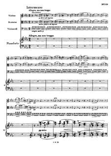 Klavierquartett Nr.1 in g-Moll, Op.25: Teil II by Johannes Brahms