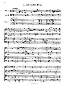 Eight Motets: No.3 Benedictus Deus by Antonio Caldara