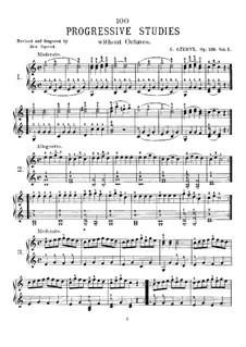 Etüden, Op.139: Nr.1-49 by Carl Czerny