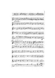 Théagène et Cariclée: Akt I by Henri Desmarets