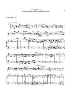 Die Regimentstochter: Ouvertüre – Waldhornstimmen by Gaetano Donizetti