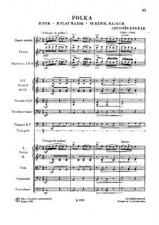 Polka 'Für die Prager Studenten', B.114: Polka 'Für die Prager Studenten' by Antonín Dvořák