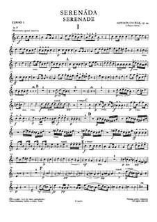 Serenade in d-Moll, B.77 Op.44: Hornstimme I by Antonín Dvořák