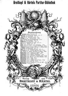 Das Streichholzmädel. Ouvertüre: Das Streichholzmädel. Ouvertüre by August Enna