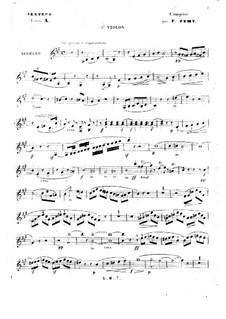 Streichsextett in A-Dur: Violinstimme II by François Fémy