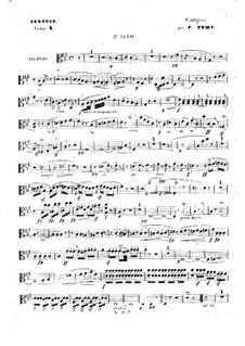 Streichsextett in A-Dur: Violastimme II by François Fémy