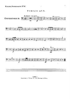 Timebunt gentes nomen tuum Domine, HV 87: Paukenstimme by Joseph Eybler